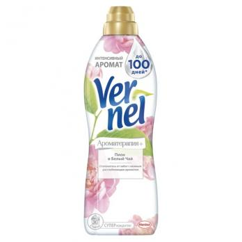 Vernel кондицинер для белья Ароматерапия Пион и Белый чай 910мл